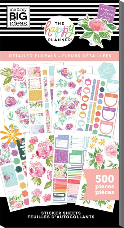 Value Pack Stickers - Details Florals
