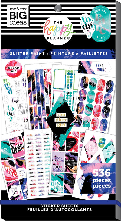 Value Pack Stickers - Splattered Paint