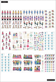 Value Pack Stickers - Rongrong - Fitness