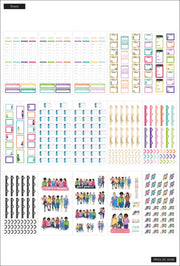 Value Pack Stickers - Rongrong - Fitness - Mini