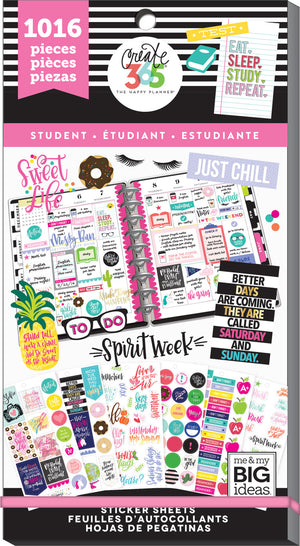 Value Pack Stickers - Sweet Life - Student