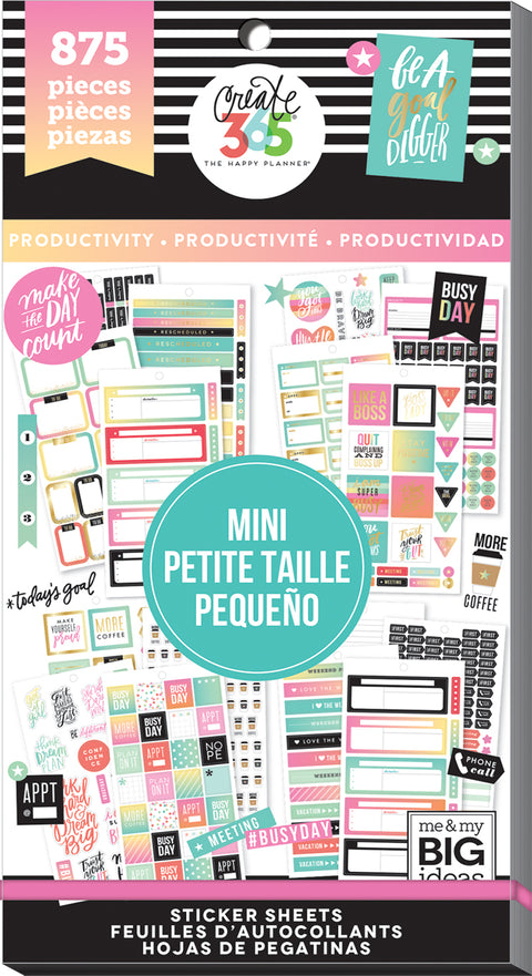 Value Pack Stickers - Productivity - Mini