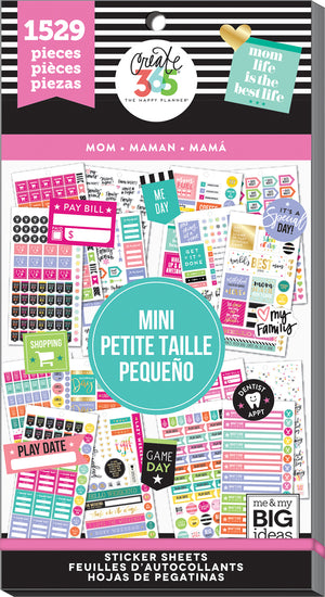 Value Pack Stickers - Mom - Mini