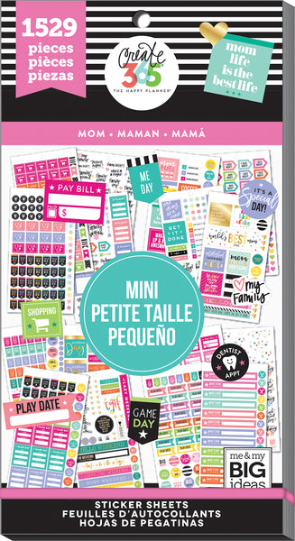 Value Pack Sticker Book - Mom - MINI