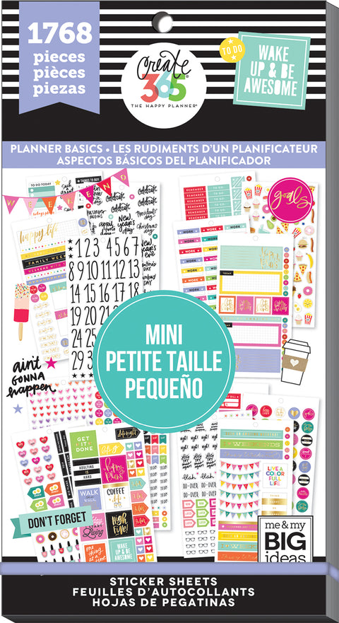 Value Pack Stickers - Planner Basics™ - Mini