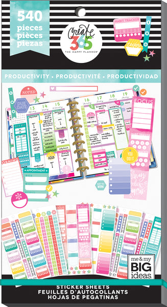 Value Pack Stickers - Fill In Productivity