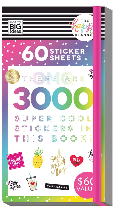 Mega Value Sticker Pack - 60 Sheets!