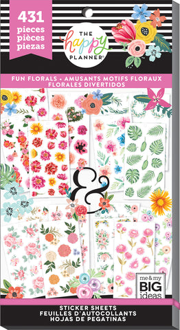 Value Pack Stickers - Fun Florals
