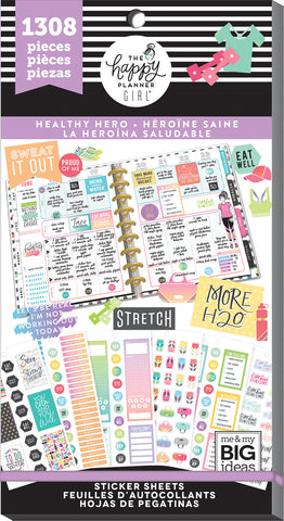Value Pack Stickers - Healthy Hero