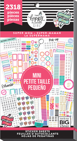 Value Pack Stickers - Super Mom Mini