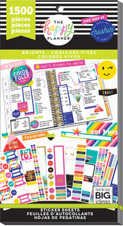 Value Pack Stickers - Brights