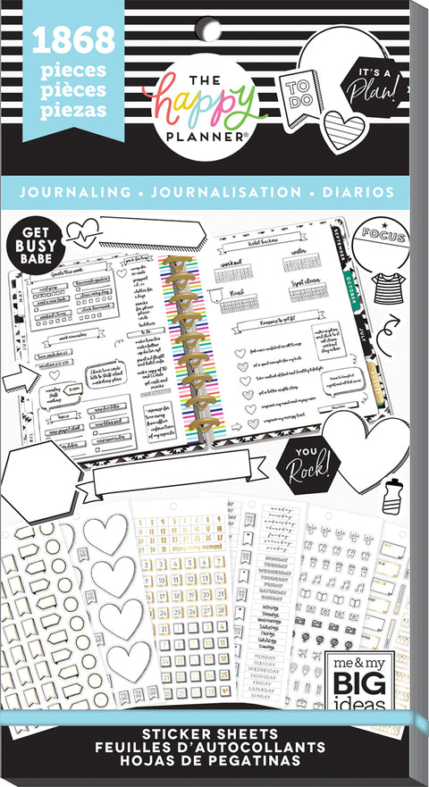 Value Pack Stickers - Journaling