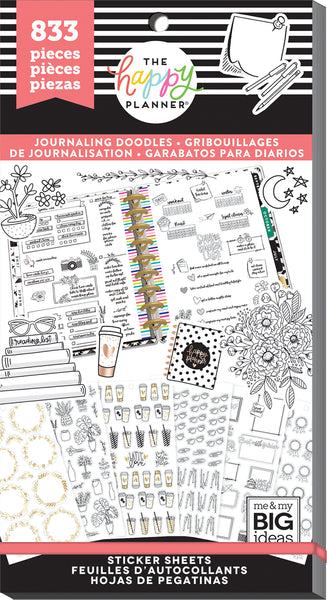 Value Pack Stickers - Journaling Doodles