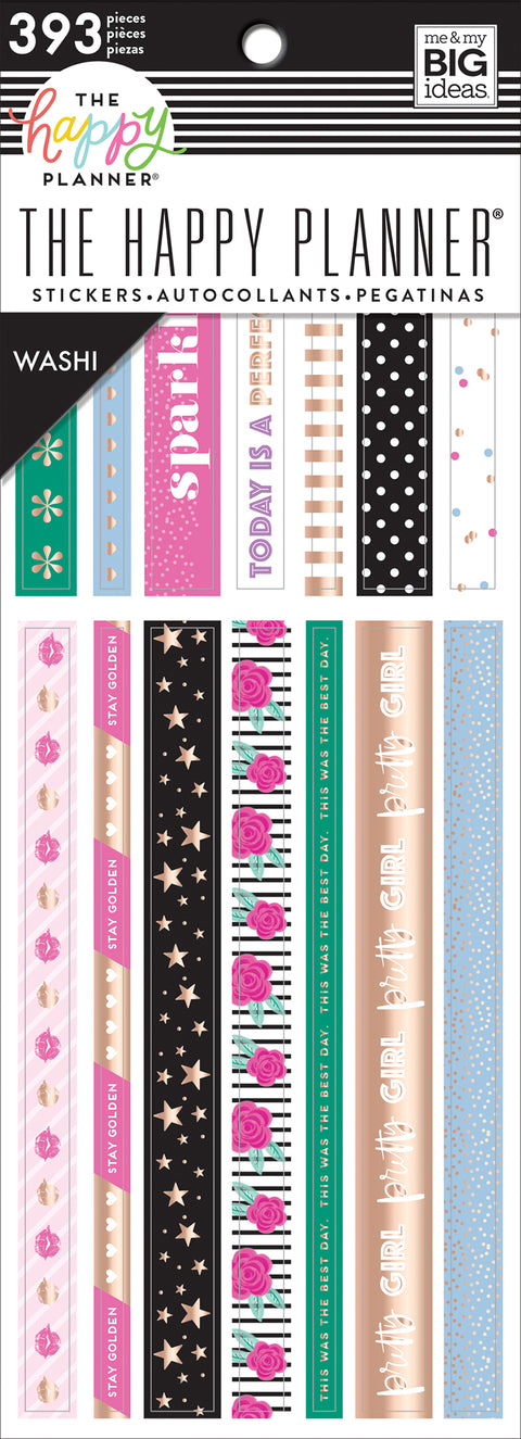 Girly Washi Book