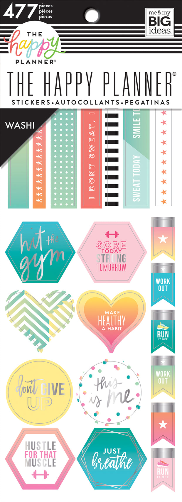 Fitness Washi Book