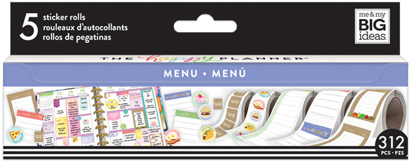 Menu Sticker Roll