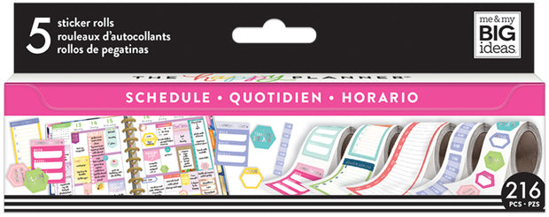 Scheduling Sticker Rolls