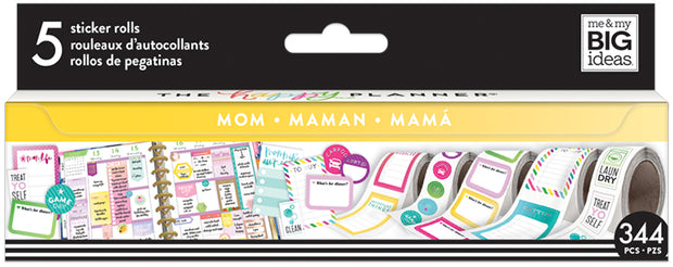 Mom Sticker Rolls