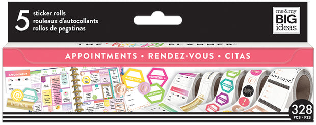 Appointments Sticker Roll