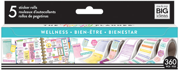 Wellness Sticker Rolls