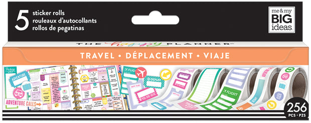 Travel Sticker Rolls