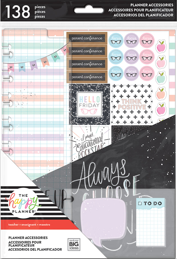 Classic Accessory Pack - Teacher - Always Be Kind