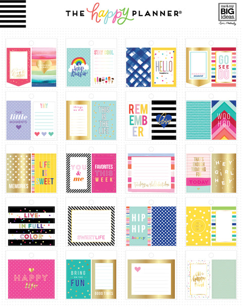 Tiny Sticker Pad - Bold and Bright