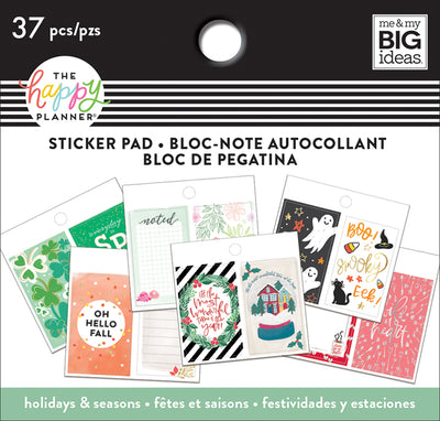 Tiny Sticker Pad - Seasonal
