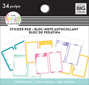 Tiny Sticker Pad - Colorful Boxes