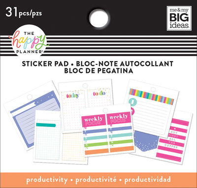 Tiny Sticker Pad - Productivity