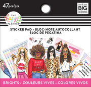 Tiny Sticker Pad - Rongrong - Brights