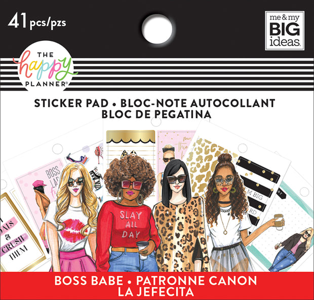 Tiny Sticker Pad - Rongrong - Boss Babe