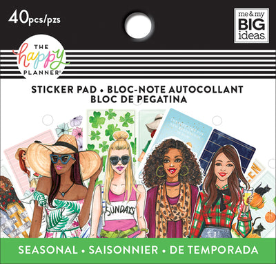 Tiny Sticker Pad - Rongrong - Seasonal