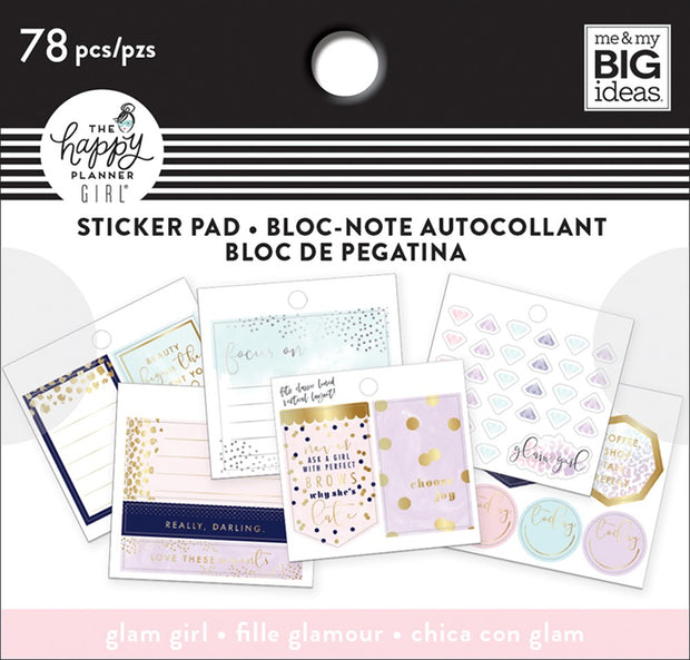 Tiny Stickers Pad - Glam Girl