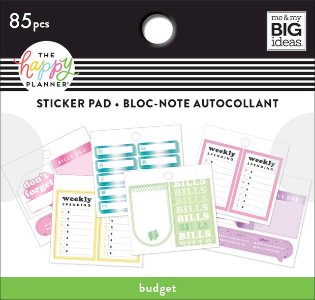Tiny Stickers Pad - Budget