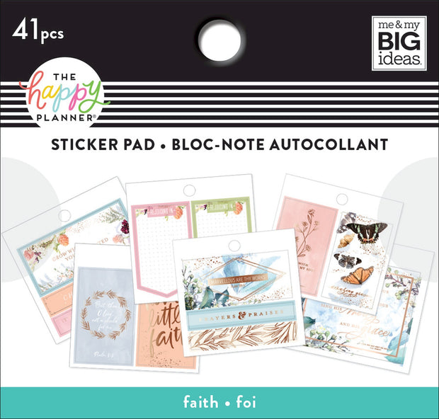 Tiny Stickers Pad - Faith