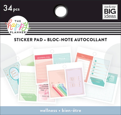 COMING SOON - Tiny Stickers Pad - Wellness