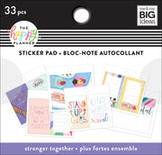 Tiny Sticker Pad - Stronger Together