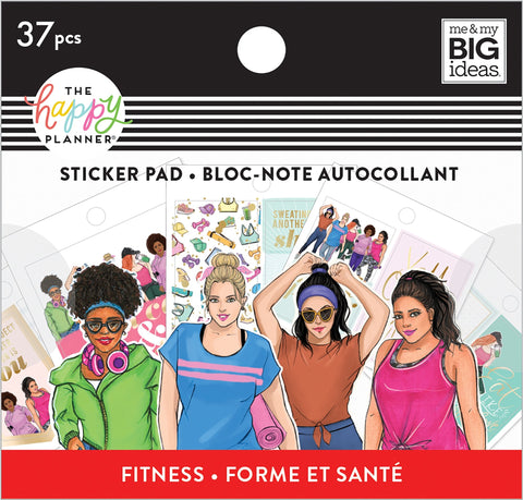 Tiny Sticker Pad - Rongrong - Fitness