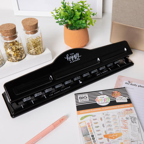 The Happy Planner® BIG Punch - Black