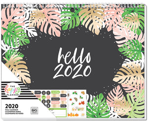 2020 Wall Calendar - Botanical