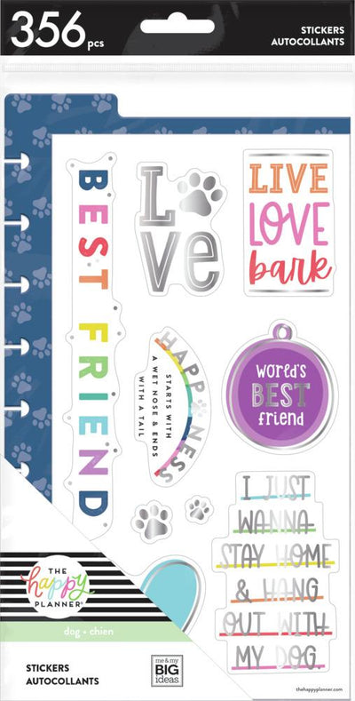Dashboard Stickers - Love Bark