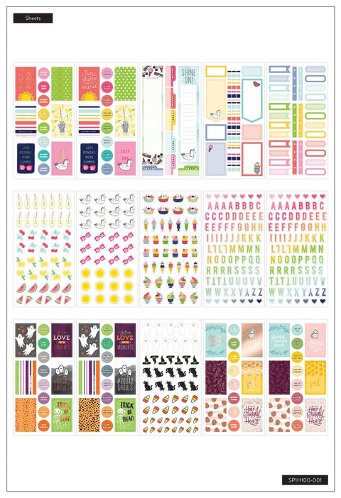 Mega Value Pack Stickers - All in a Season