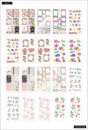 Flower Power Mega Value Pack Stickers - 100 Sheets