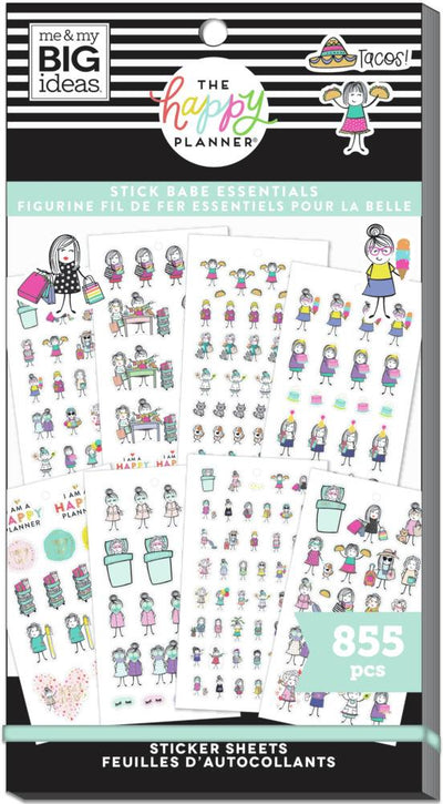 Value Pack Stickers - Stick Girls Essentials