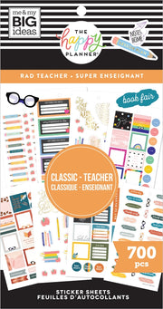 Value Pack Stickers - Rad Teacher