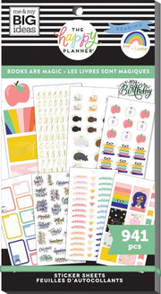 Value Pack Stickers -  Books Are Magic