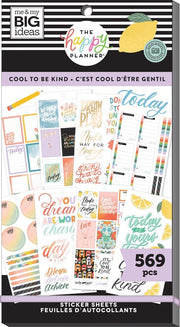Value Pack Stickers - Cool to Be Kind