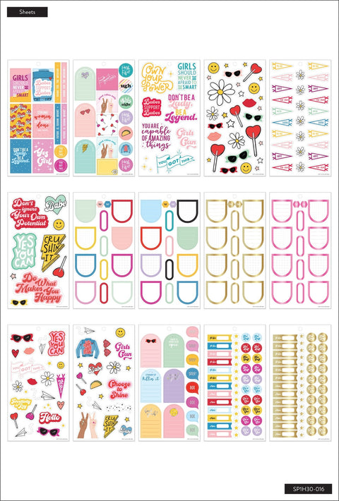 Value Pack Stickers - Girl Power