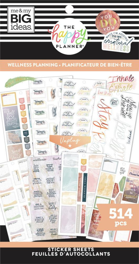 Value Pack Stickers - Wellness Planning